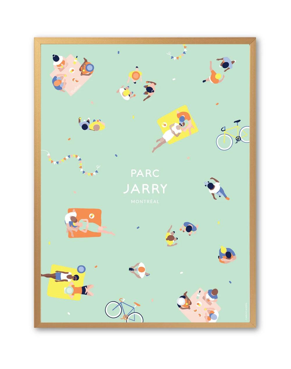 Cliquez ici pour acheter Affiche – Parc Jarry