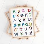 Affiche - Les lettres de l'alphabet