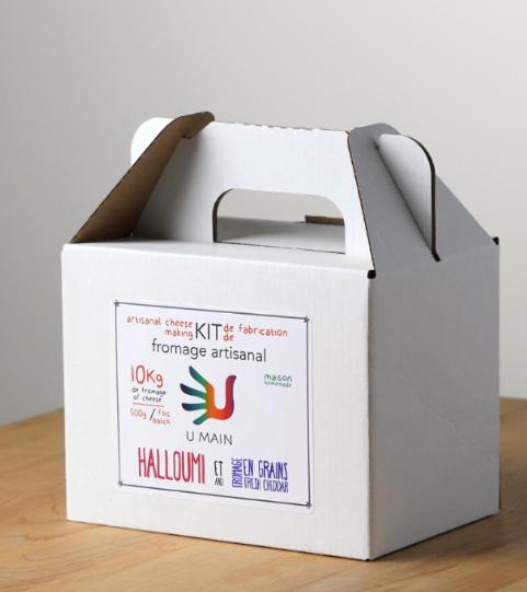 Cliquez ici pour acheter Fromage à poutine ou halloumi maison!