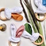 Jouet de dentition - Oreilles de biche