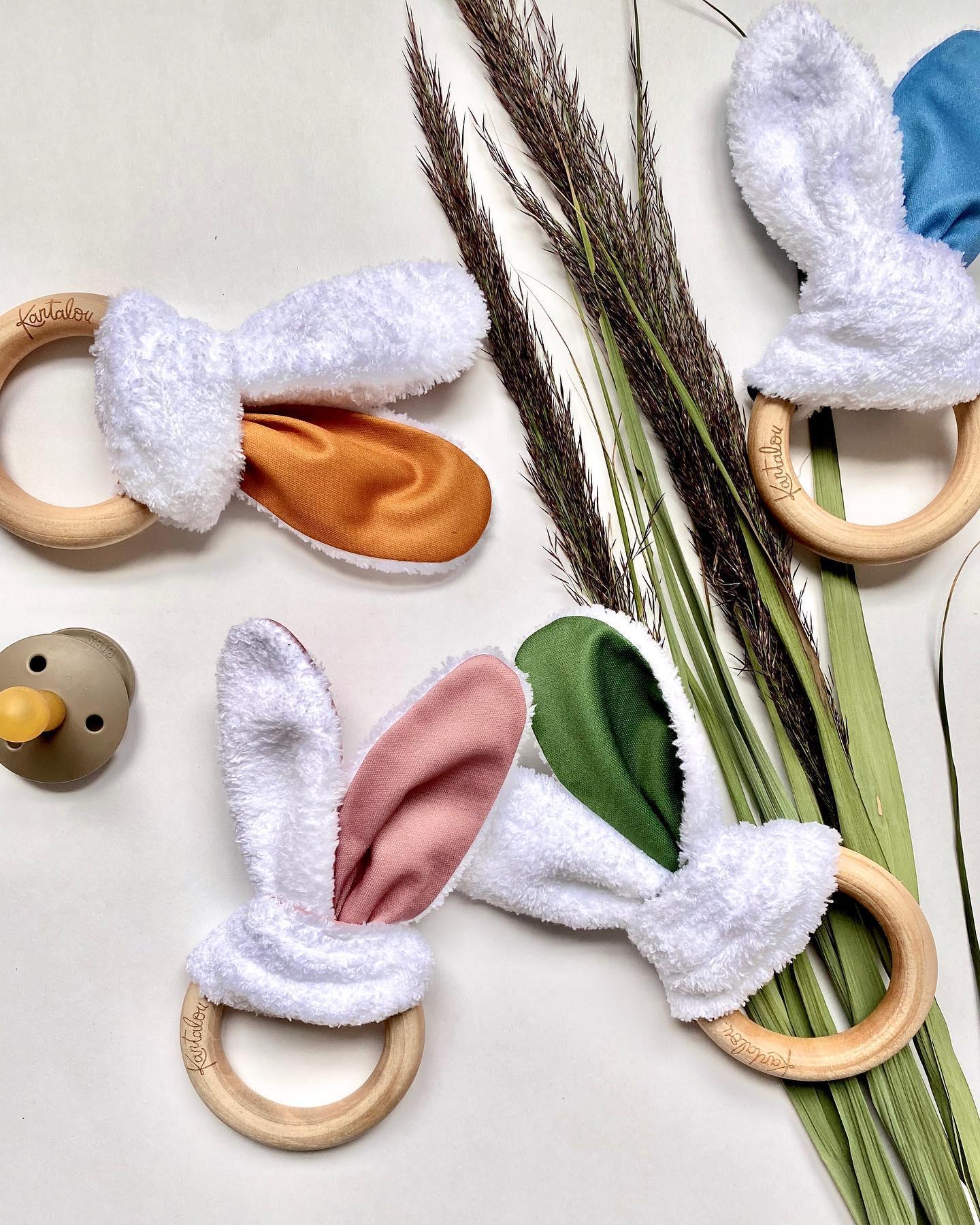 Cliquez ici pour acheter Jouet de dentition – Oreilles de biche