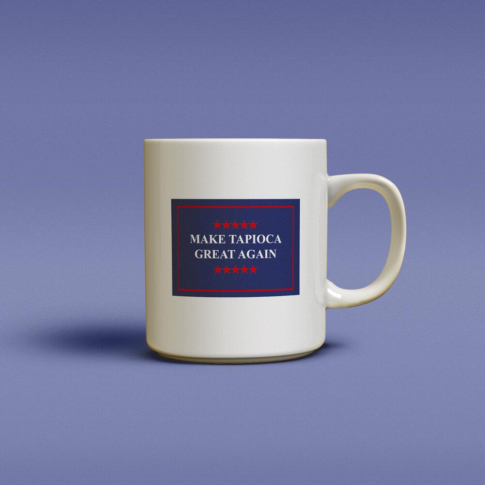 Cliquez ici pour acheter Tasse – Make Tapioca great again