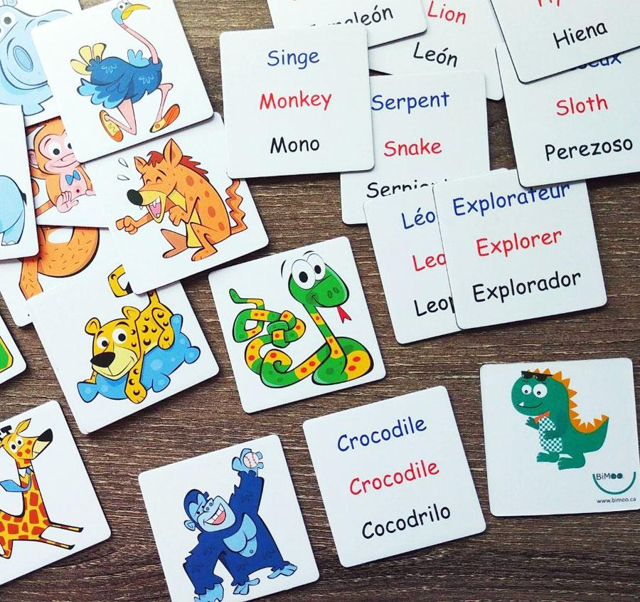 Cliquez ici pour acheter Aimants éducatifs trilingues