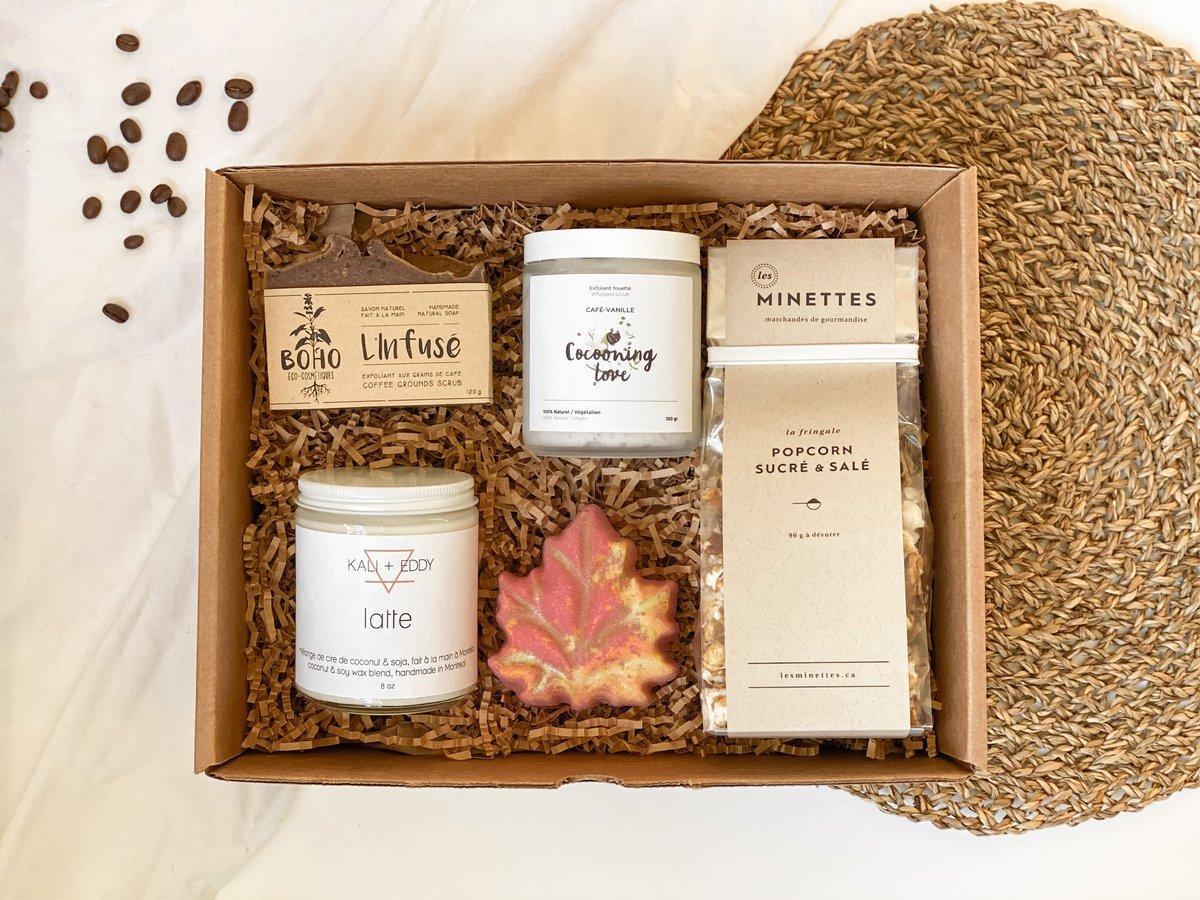 Cliquez ici pour acheter Boîte cocooning – Café Latte