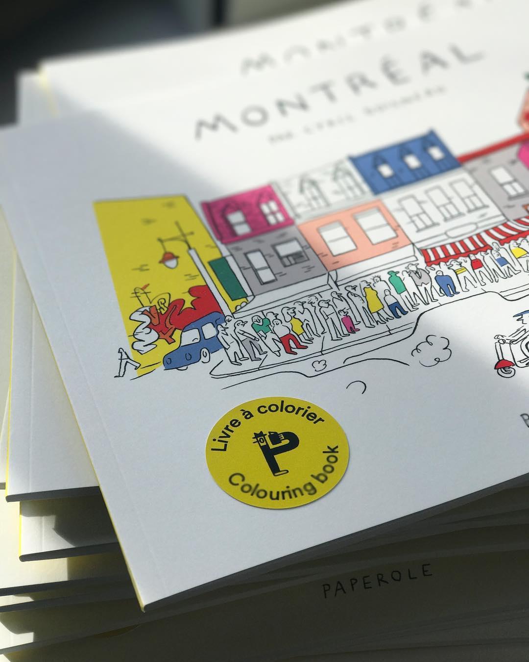 Cliquez ici pour acheter Livre à colorier – Montréal