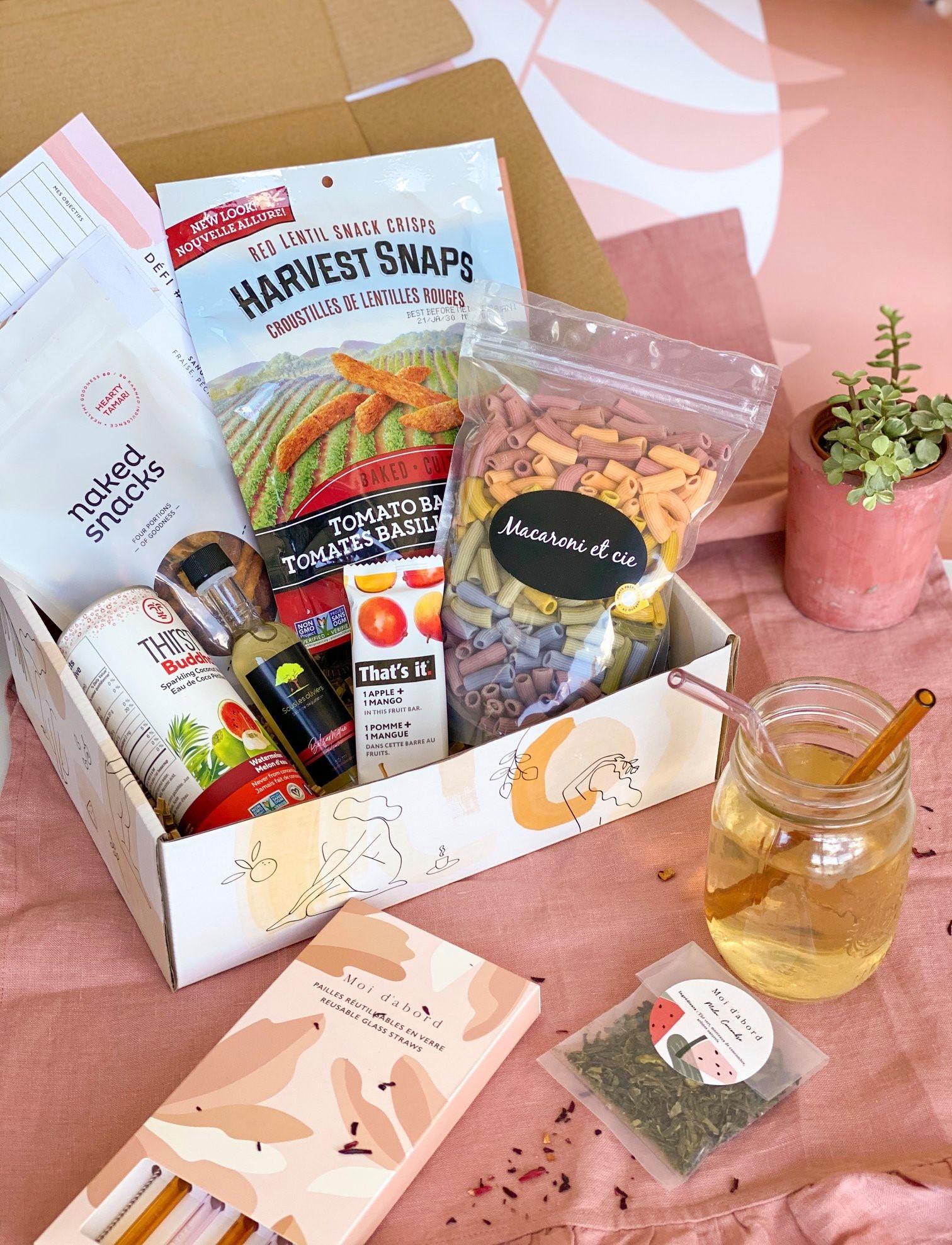 Cliquez ici pour acheter Abonnement – 3 boites de produits santé!
