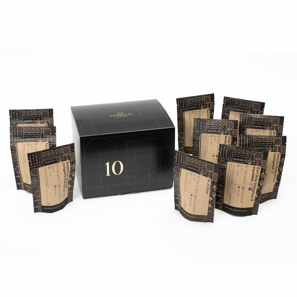 Cliquez ici pour acheter Boîte découverte – 10 thés au choix