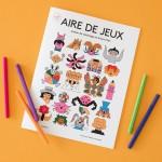 Cahier de coloriage - AIRE DE JEUX