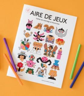 Cahier de coloriage – AIRE DE JEUX
