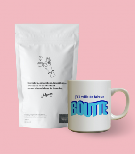 Combo café et tasse au choix