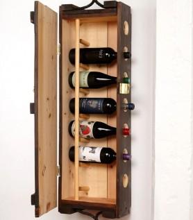 Cellier en bois – Ancienne boîte de munitions