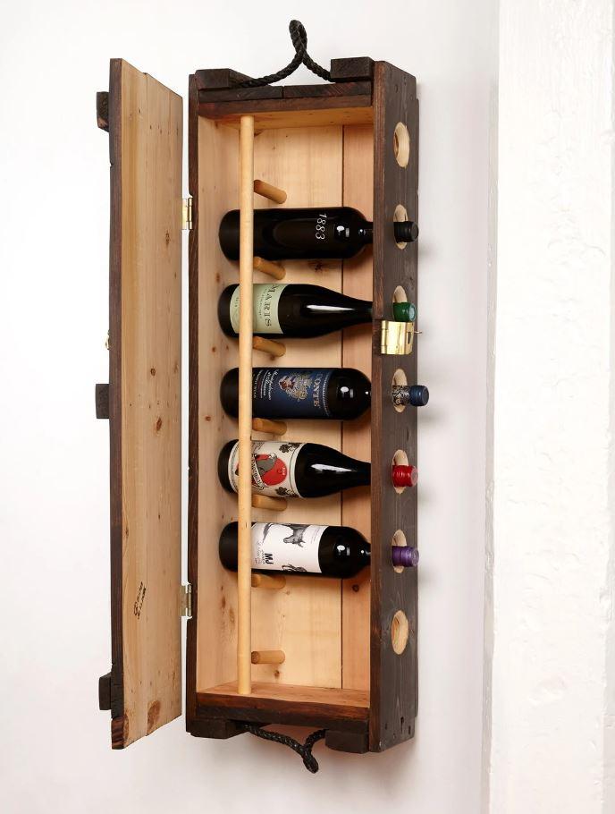 Cliquez ici pour acheter Cellier en bois – Ancienne boîte de munitions