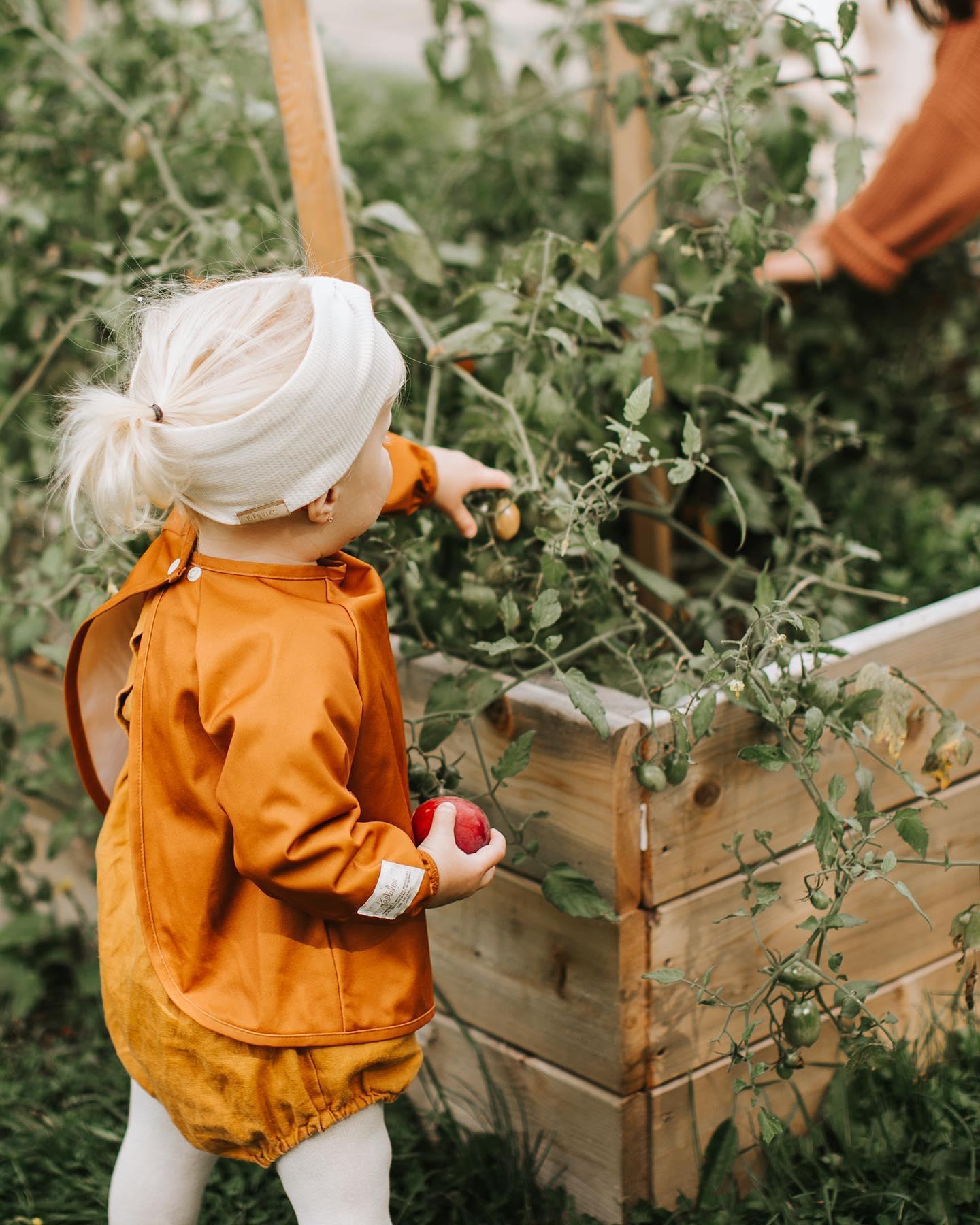 Cliquez ici pour acheter Bavette évolutive & écologique – 6 à 24 mois