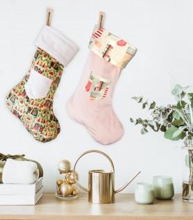 Bas de Noël fabriqué au Québec
