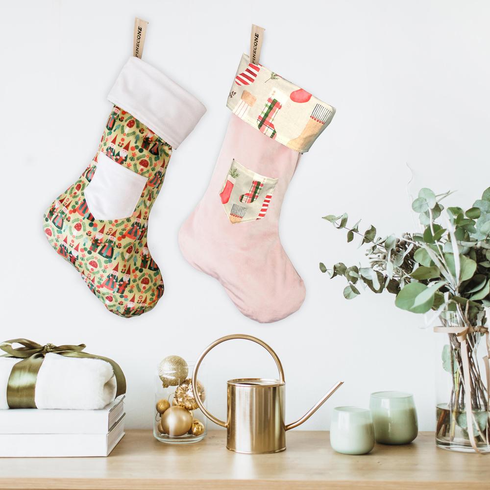 Cliquez ici pour acheter Bas de Noël fabriqué au Québec