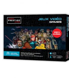 Coffrets Prestige : Jeux vidéo 100% Québec