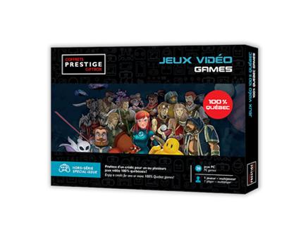 Cliquez ici pour acheter Coffrets Prestige : Jeux vidéo 100% Québec