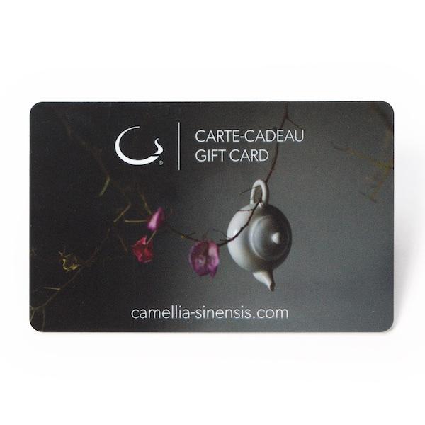 Cliquez ici pour acheter Carte-cadeau – Camellia Sinensis