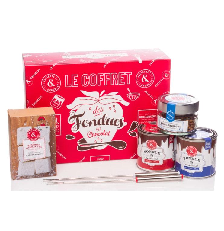 Cliquez ici pour acheter Coffret – Fondues au chocolat