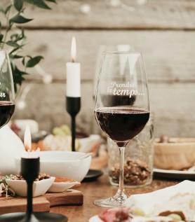Verre à vin – Prendre le temps