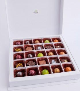 Coffret – 25 chocolats Amango