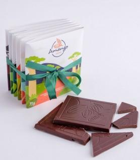 Ensemble découverte – 6 tablettes de chocolat Amango