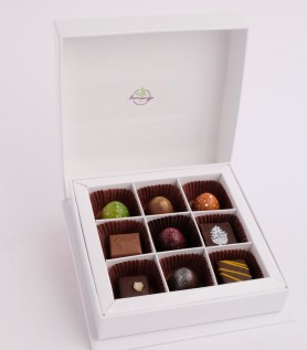 Coffret – 9 chocolats Amango