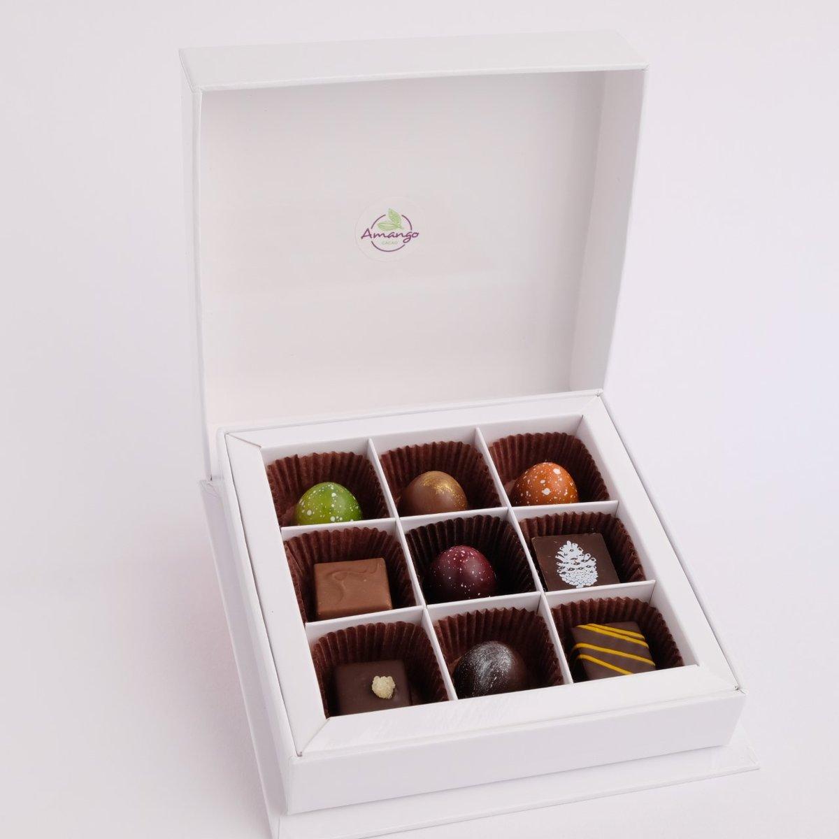 Cliquez ici pour acheter Coffret – 9 chocolats Amango
