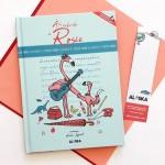Livre cherche et trouve québécois - Rosie le flamant