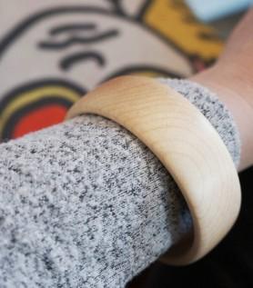 Bracelet en bois – Érable