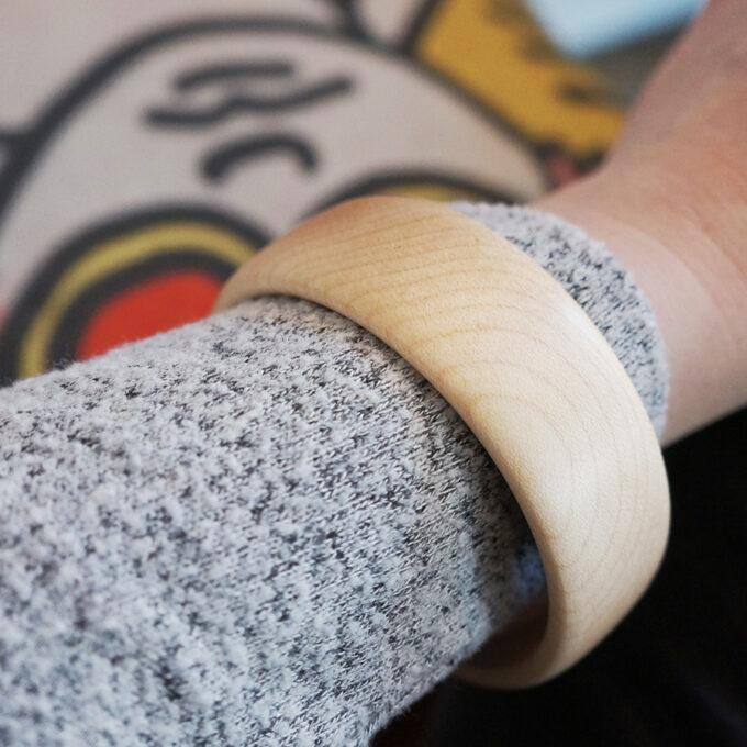 Cliquez ici pour acheter Bracelet en bois – Érable