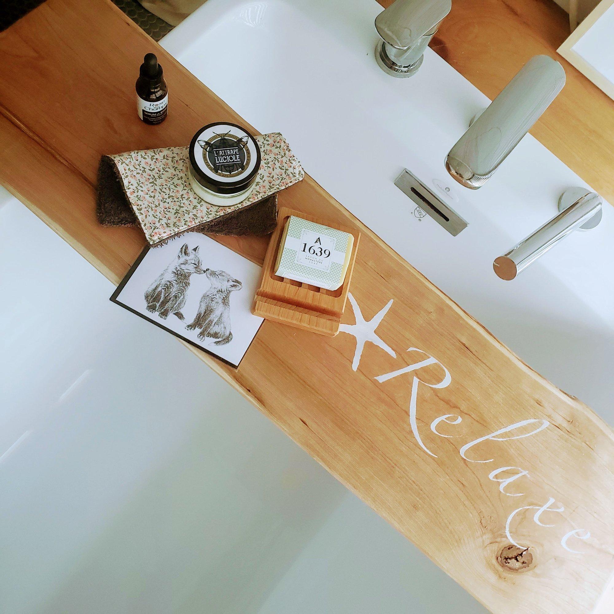 Cliquez ici pour acheter Coffret cadeaux & pont de bain