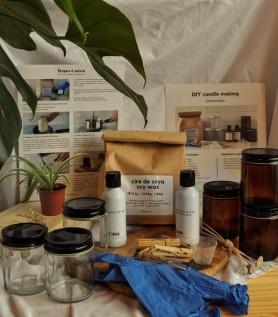 Boîte DIY – Fabrication de bougies de soya