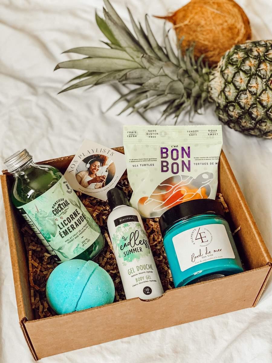 Cliquez ici pour acheter Boîte des Caraïbes – Le sud à la maison