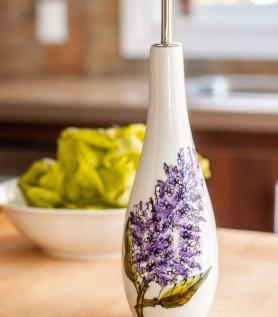 Bouteille d'huile ou vinaigre – Lilas
