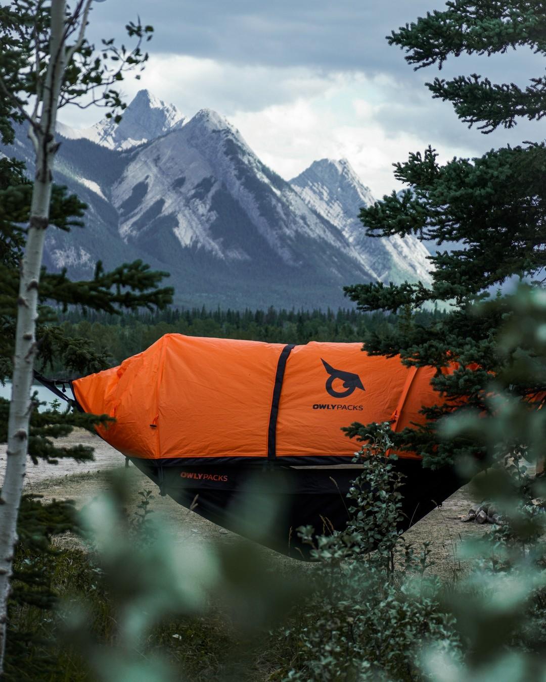 Cliquez ici pour acheter Tente-hamac Owly Packs – Orange
