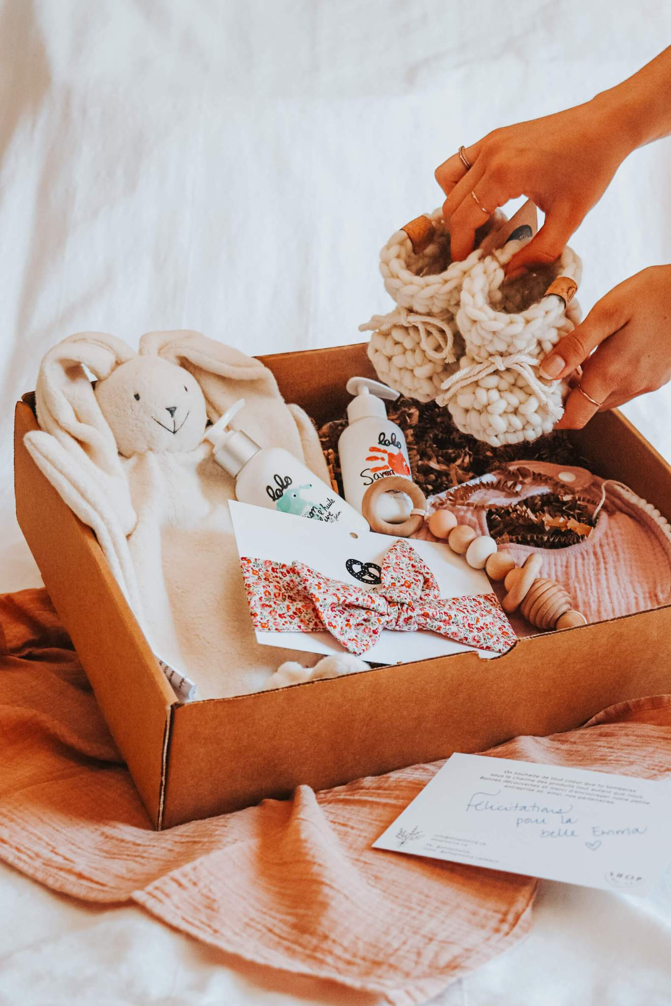 Cliquez ici pour acheter Boîte surprise pour bébé