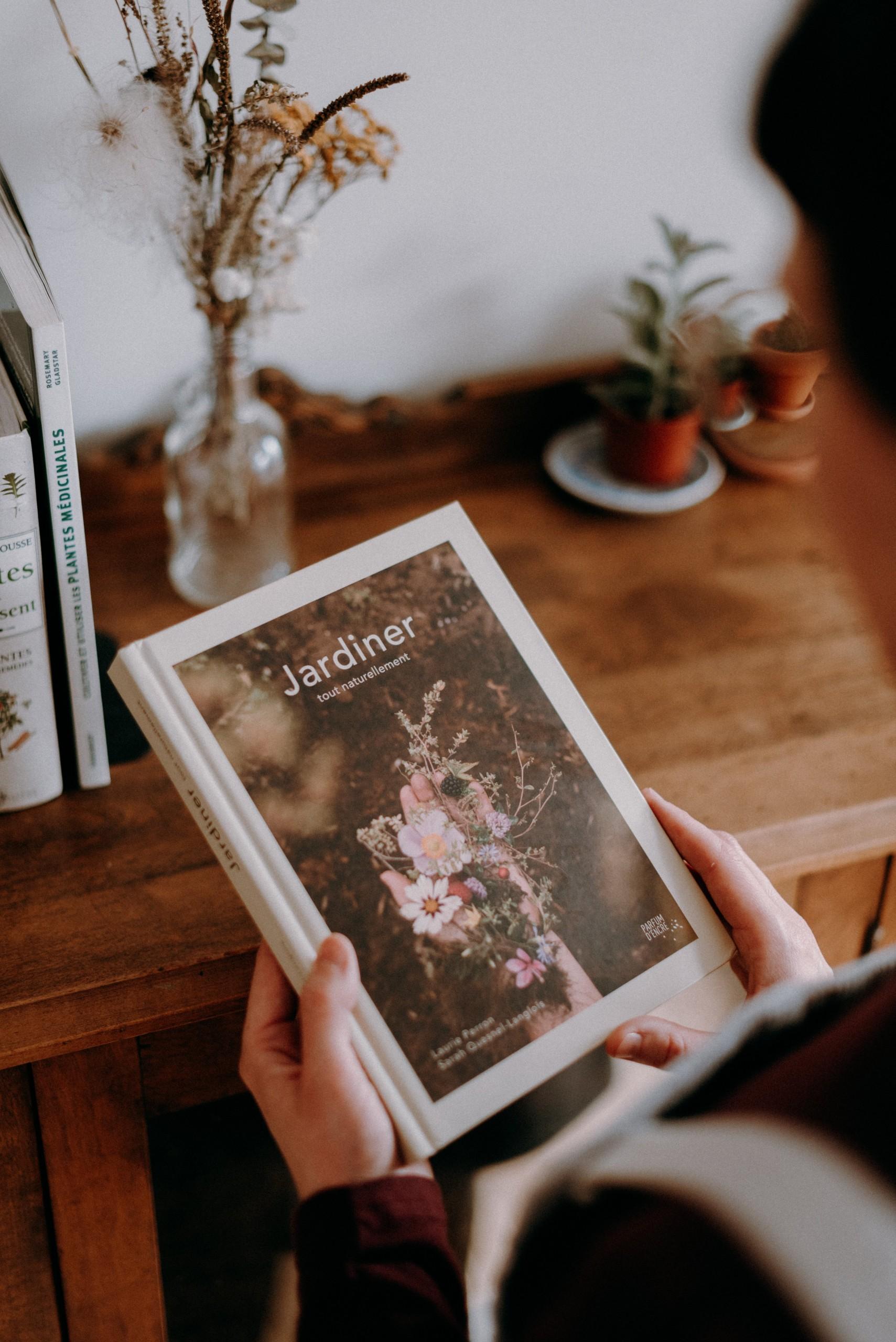 Cliquez ici pour acheter Livre – Jardiner tout naturellement