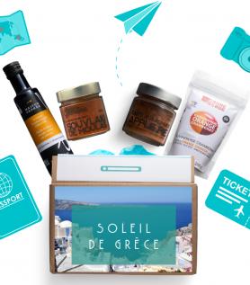 Valise gourmande – Voyage sous le soleil de Grèce