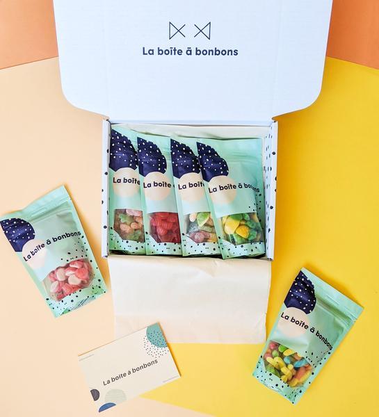 Cliquez ici pour acheter Boîte à bonbons à personnaliser