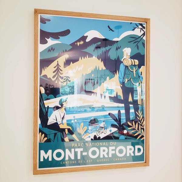 Cliquez ici pour acheter Illustration – Parc National du Mont-Orford