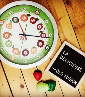 Horloge délicieuse pour enfant – Olofusion