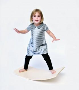 Planche d'équilibre en bois