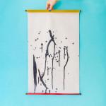 Rouleau de tissu magique - Peinture à l'eau