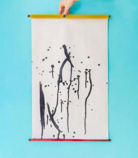Rouleau de tissu magique – Peinture à l'eau