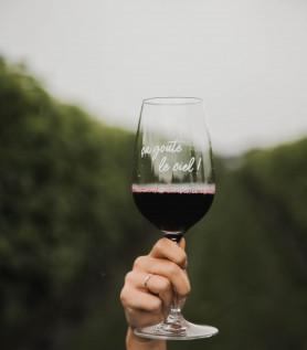 Verre à vin – Ça goûte le ciel