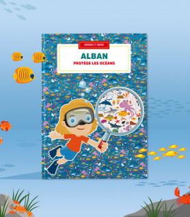 Livre personnalisé – Protège les océans