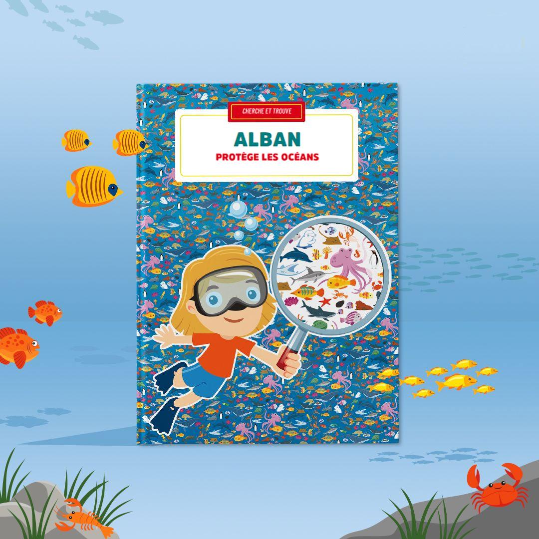 Cliquez ici pour acheter Livre personnalisé – Protège les océans
