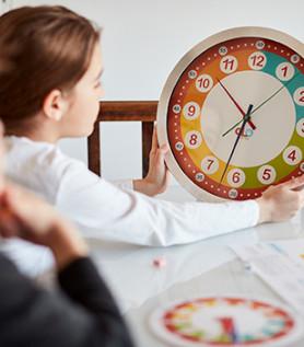 Horloge éclatée pour enfant – Olofusion